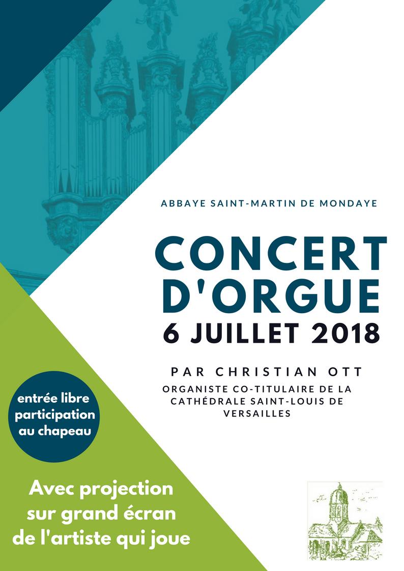 2018 affiche concert