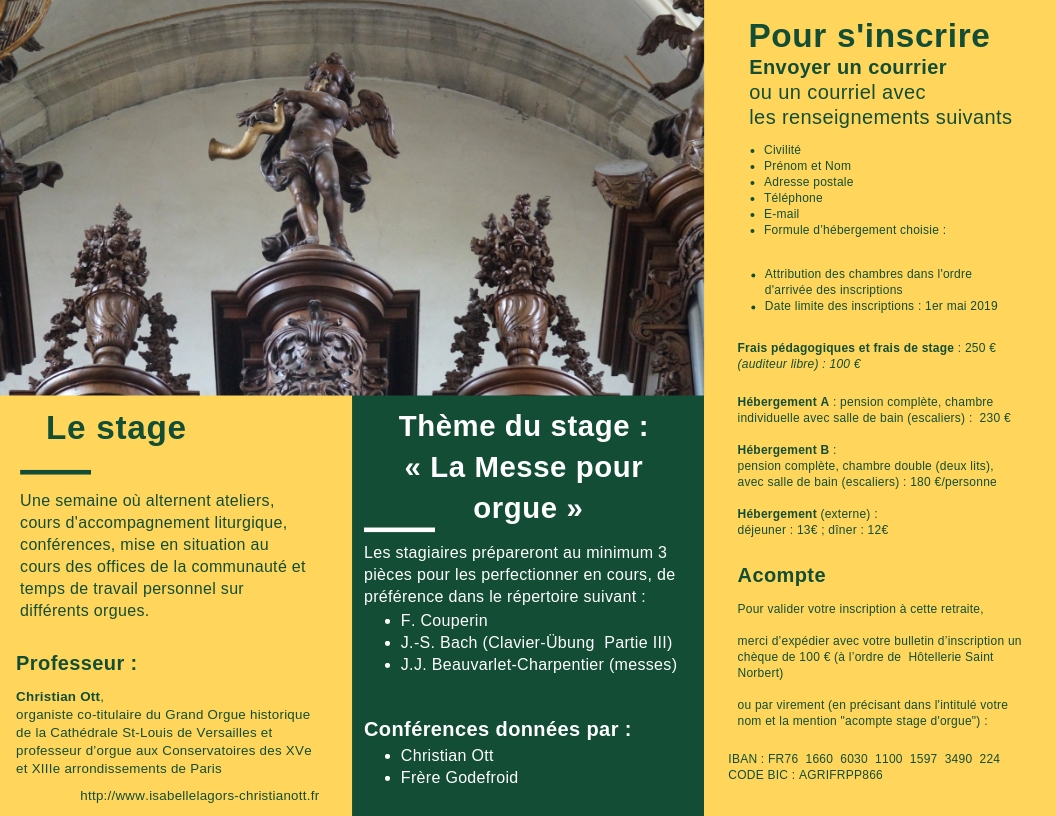 Stage Orgue Mondaye Tract 2019 verso