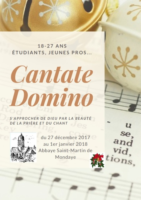 2018 Cantate Domino tract1